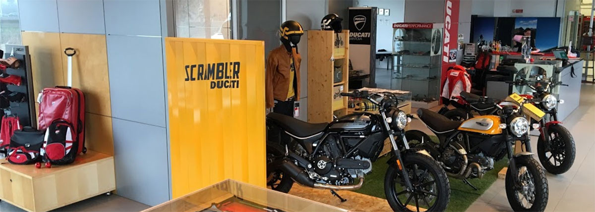 redbike-concessionario-ducati-matova-showroom